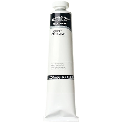 WINSOR & NEWTON LIQUIN OLEOPASTO OIL BASED MEDIUM 200ml