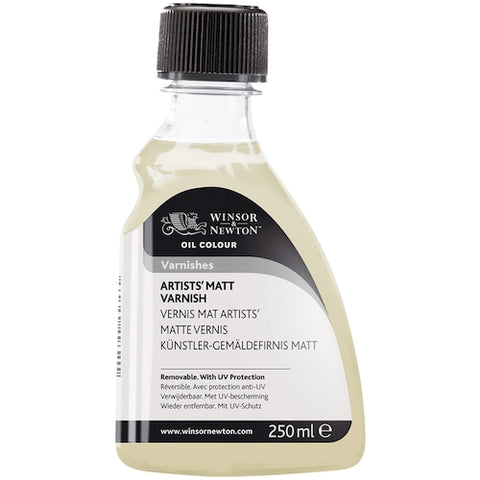 WINSOR & NEWTON ARTISTS OIL BASED MATT VARNISH - 250ml