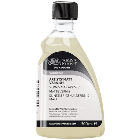 WINSOR & NEWTON ARTISTS OIL BASED SATIN VARNISH - 500ml