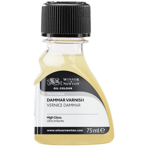 WINSOR & NEWTON OIL BASED DAMMAR VARNISH 75ml