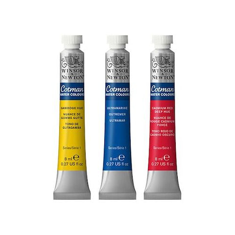 Winsor and Newton Cotman Watercolour - 8ml Tubes