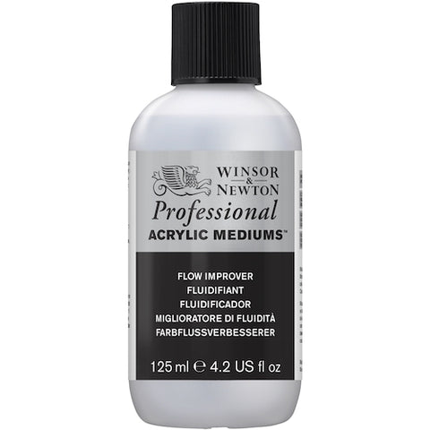 WINSOR & NEWTON PROFESSIONAL ACRYLIC FLOW IMPROVER - 125ml