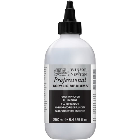 WINSOR & NEWTON PROFESSIONAL ACRYLIC FLOW IMPROVER - 250ml