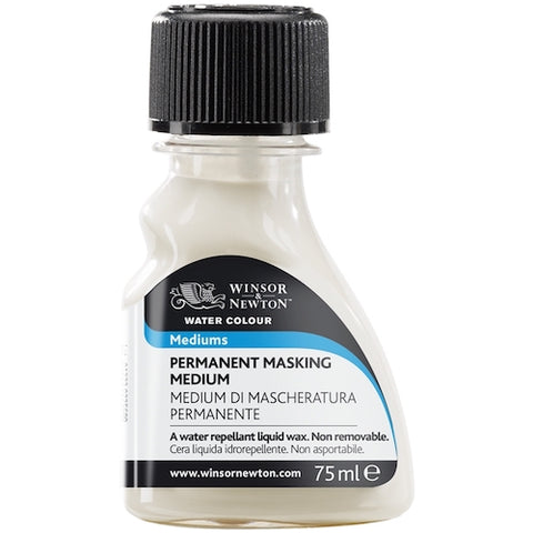 WINSOR & NEWTON ARTISTS WATERCOLOUR MEDIUM- Permanent Masking Medium 75ml