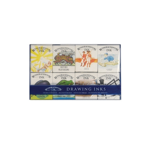 WINSOR & NEWTON DRAWING INK SET - The William Collection