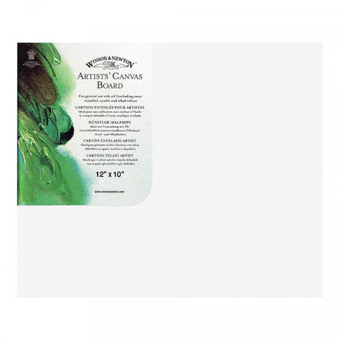 WINSOR & NEWTON CANVAS BOARD - 12 x 10""