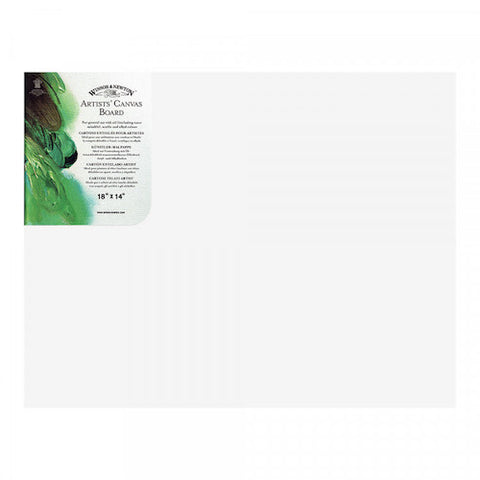 WINSOR & NEWTON CANVAS BOARD - 18 x 14""