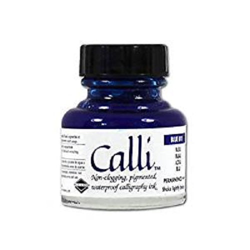 DALER ROWNEY CALLIGRAPHY CALLI INK 29.5ml - Blue