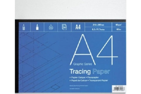 DALER ROWNEY TRACING PAPER PAD - A4