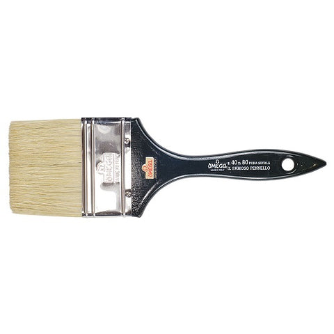 OMEGA SERIES 40 LILY VARNISHING BRUSH - Size 80mm