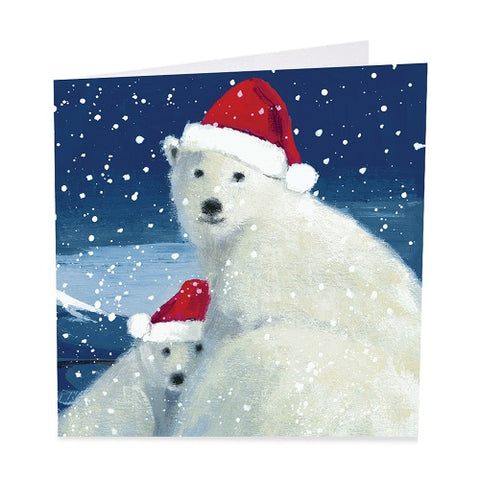 "Charity Christmas Cards Pack of Six Cards by Adelene Fletcher ""Christmas Hugs""- Shelter"