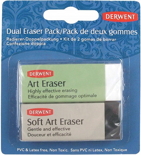 DERWENT ERASER - Twin Pack