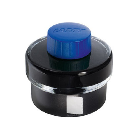 LAMY T52 INK BOTTLE WITH BLOTTING PAPER ROLL  - 50ml - Washable Blue