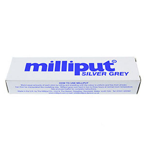 Milliput Epoxy Putty 2-stick Pack 113g (4oz) Silver grey