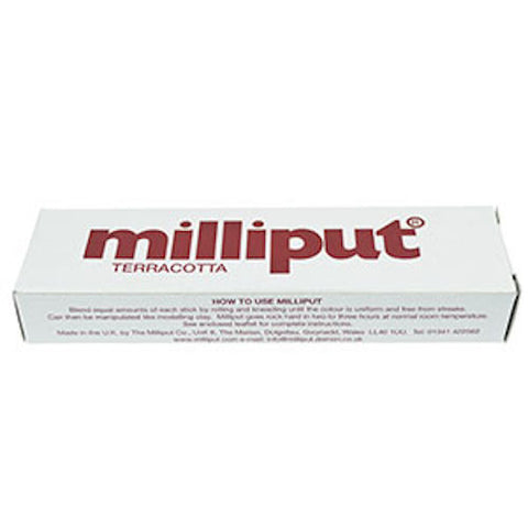 Milliput Epoxy Putty 2-stick Pack 113g (4oz) Terracotta