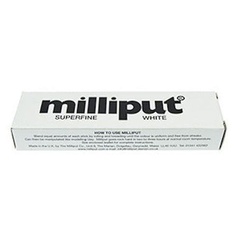Milliput Epoxy Putty 2-stick Pack 113g (4oz) Superfine White