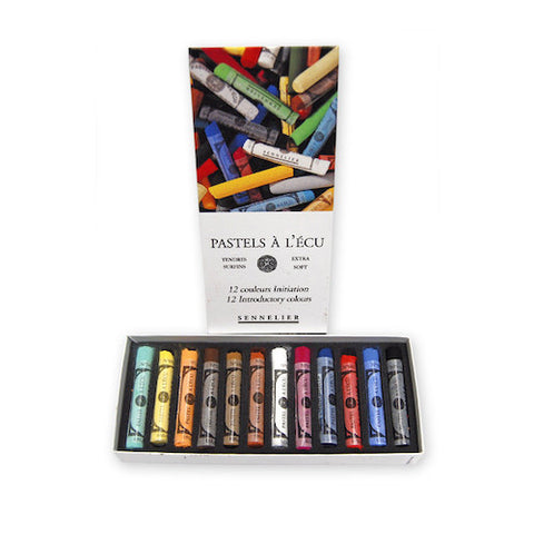 Sennelier Extra Soft Pastels Set 12 Introductory