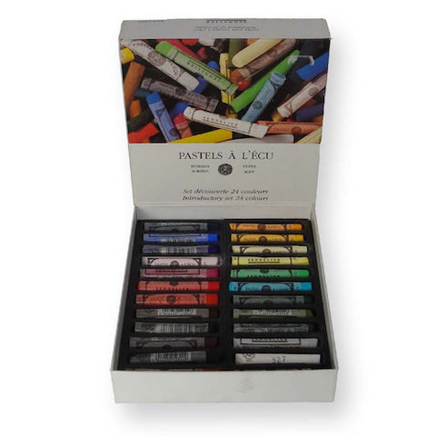 Sennelier Extra Soft Pastels Set 24 Introductory