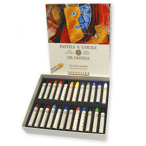 Sennelier Oil Pastels Set of 24 introductory Colours
