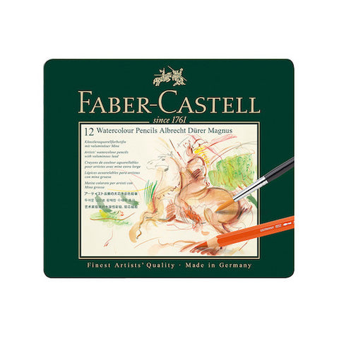 FABER CASTELL Albrecht Durer Watercolour Pencils - Tin Of 24