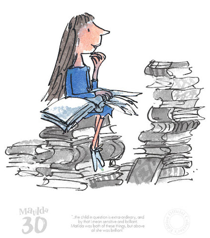 ROALD DAHL - Collector's Limited Edition - Matilda - The Child in Question in Extra Ordinary