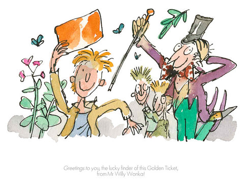 ROALD DAHL - Collector's Edition - Greetings To You