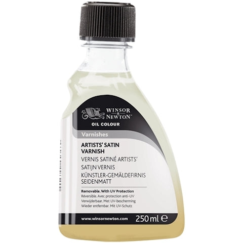 WINSOR & NEWTON ARTISTS OIL BASED SATIN VARNISH - 250ml