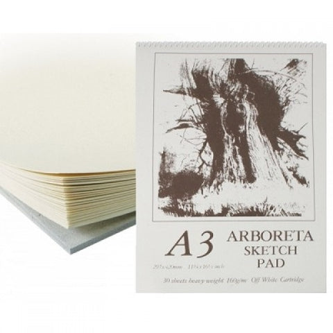 ARBORETA SPIRAL OFF WHITE SKETCH PAD - A3