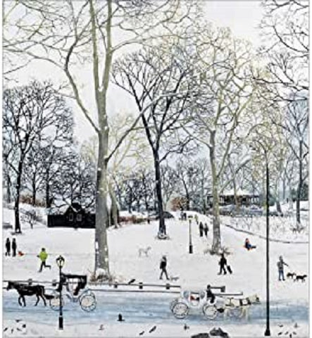 Charity Christmas Cards - Pack of 5 - by Emma Haworth - Central Park