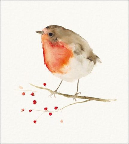 Charity Christmas Cards - Pack of 5 - by Catherine Turk - Little Visitor
