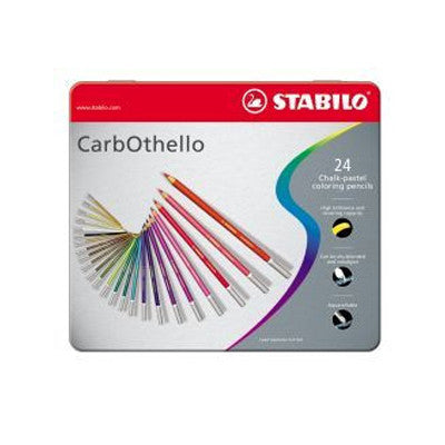 Stabilo Carbothello Chalk-Pastel Pencils Set of 24