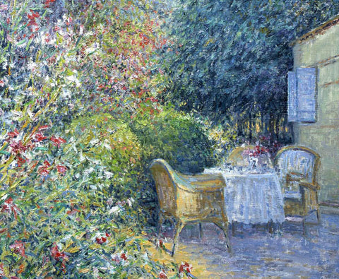 Charles Neal - Breakfast Table, Provence