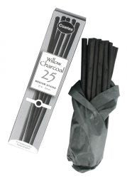 Coates Willow Charcoal medium sticks set