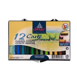 Conte a Paris Conte Crayons Set 12 Landscape Colours