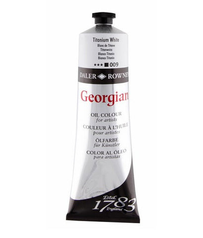 Daler Rowney Georgian Oil Paints - 225ml - Whites