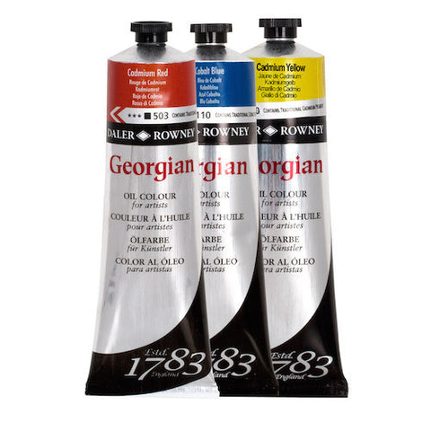 Daler Rowney Georgian Oil Paints - 75ml