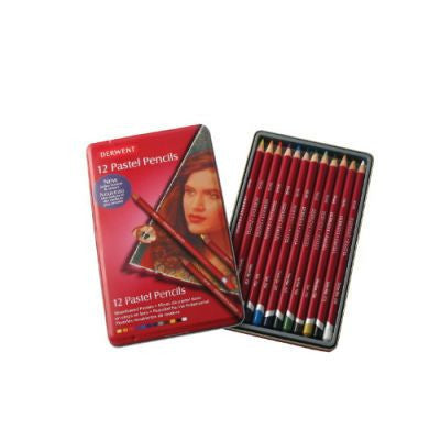 Derwent Pastel Pencils Tin of 12