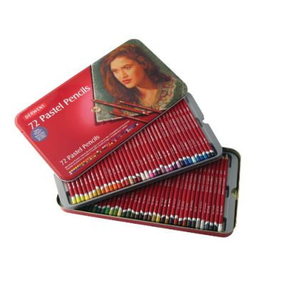 Derwent Pastel Pencils Tin of 72