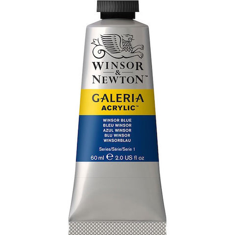 Winsor and Newton Galeria Acrylic Paints - 60ml Tubes