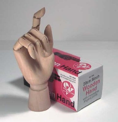 Jakar New Artists Wooden Hand -  2 Sizes