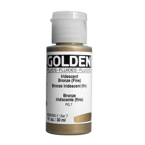 Golden Liquid Acrylic Paints - 30ml Bottles
