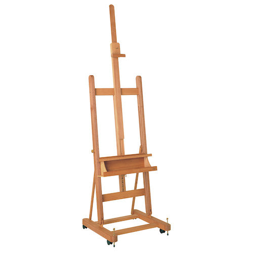 M/06 H Frame Studio Easel With Wheels
