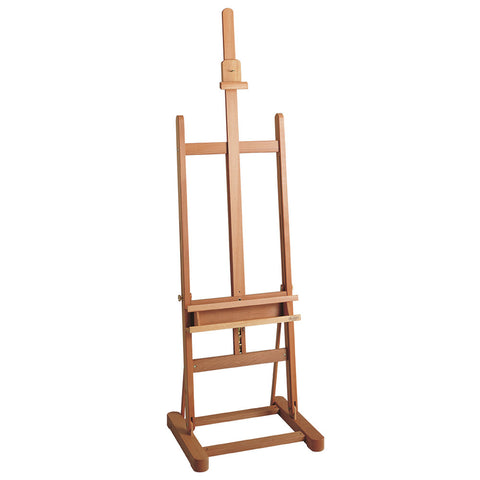 M/09 H Frame Studio Easel With Shelf