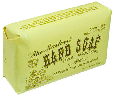 Masters Hand Soap 4.5oz, 128g bar