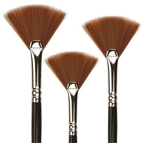 Pro Arte Series F Watercolour Prolene Fan Brush 3 Sizes