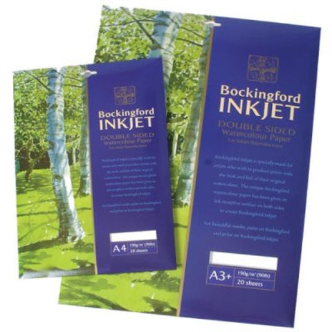 Bockingford Inkjet Watercolour Paper 90lb