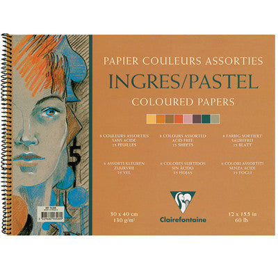 Clairefontaine Ingres Spiral Pastel Pads