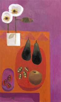 "Limited Edition Signed Print Mary Fedden ""Two Pears"""