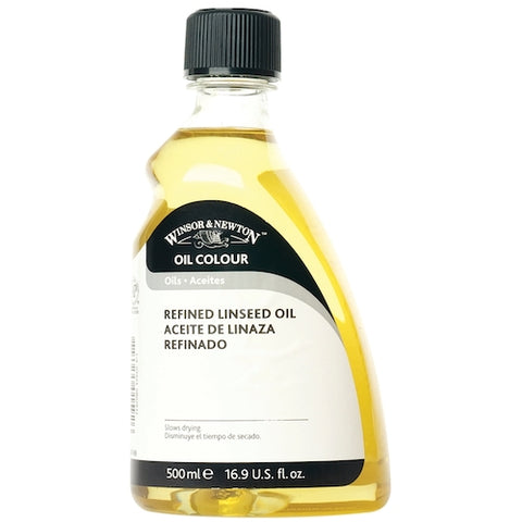 WINSOR & NEWTON Refined Linseed Oil - 500ml