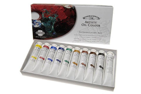 Winsor and Newton Artists Oil Colour Introductory Set 10x21ml
